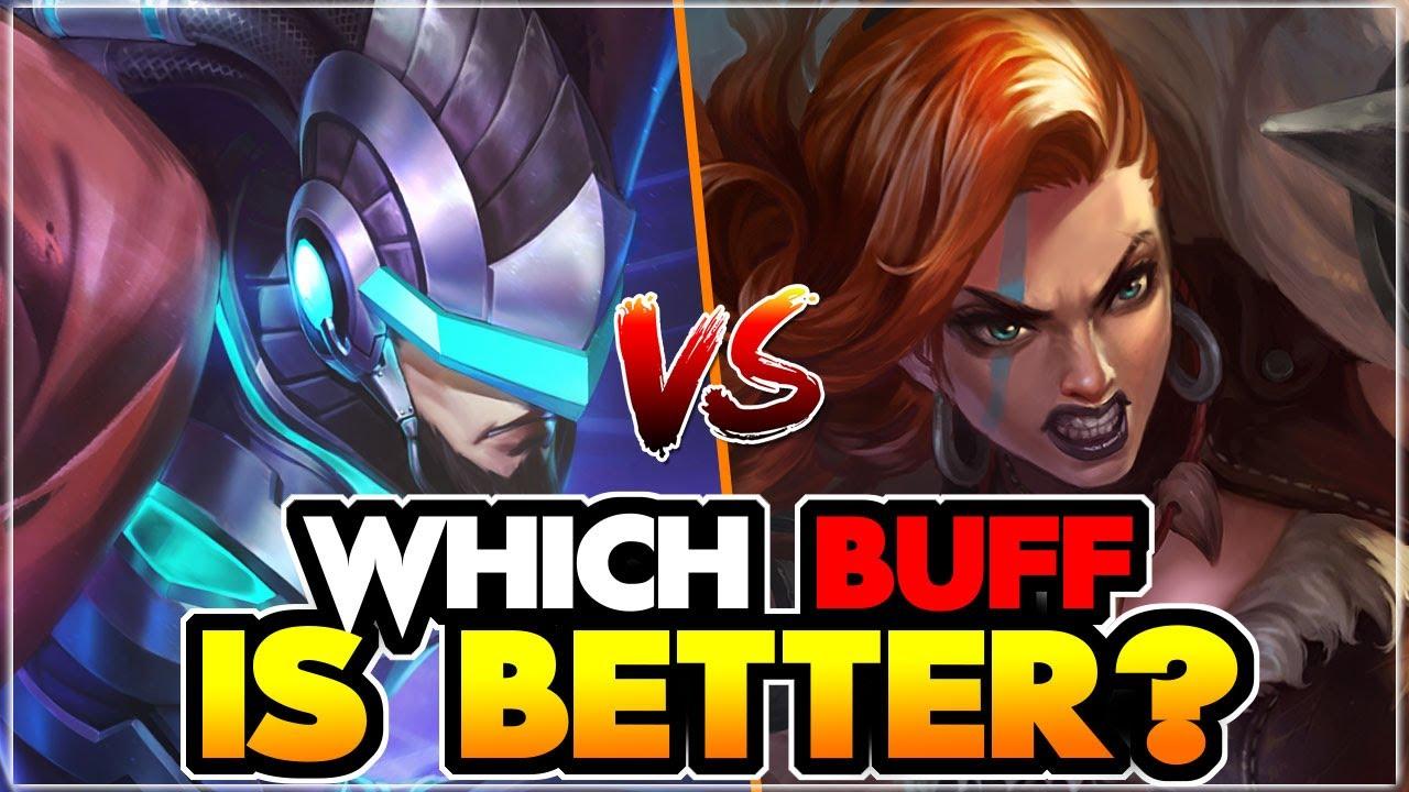 BUFF ALPHA vs BUFF HILDA   Mobile Legends   Assassin Dave