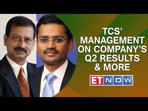 TCS' Management On Company's Q2 Results & More | EXCL