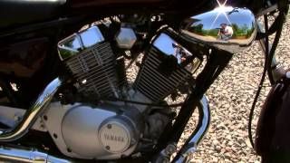 Custom Yamaha V-Star/Virago 250 With Gutted Exhaust (1080P HD)