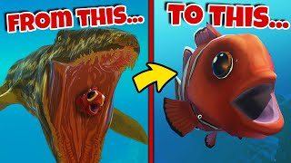 Eat The Fish = BECOME That Fish! (*NEW* Mode) | Feed and Grow Fish