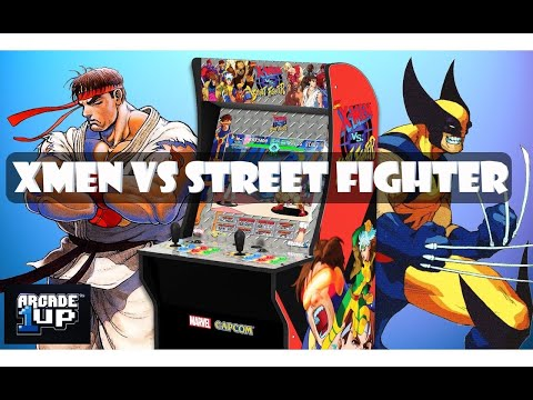 X-Men VS Street Fighter Arcade 1UP Review from TheDigitalDivide