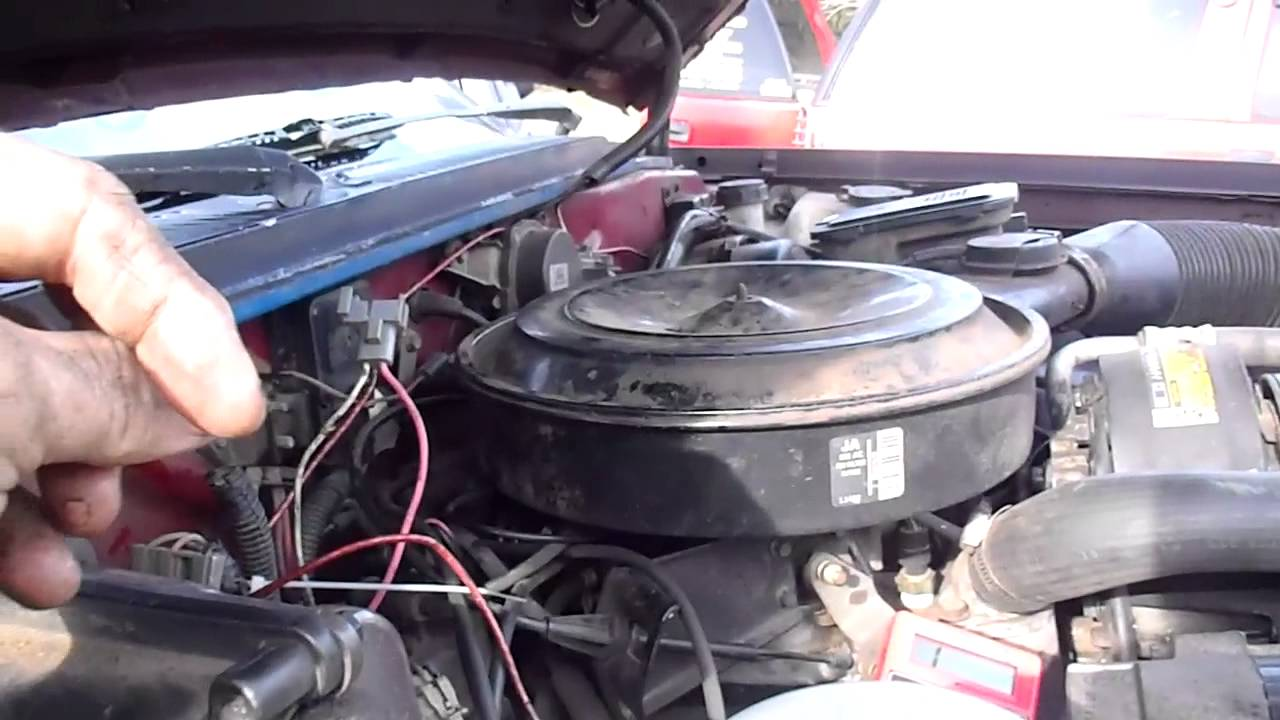 1992 S 10 Starter Problem Youtube 1996 Chevy Engine Wiring Harness