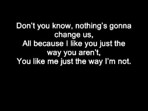 All Time Low - Just The Way I'm Not with lyrics
