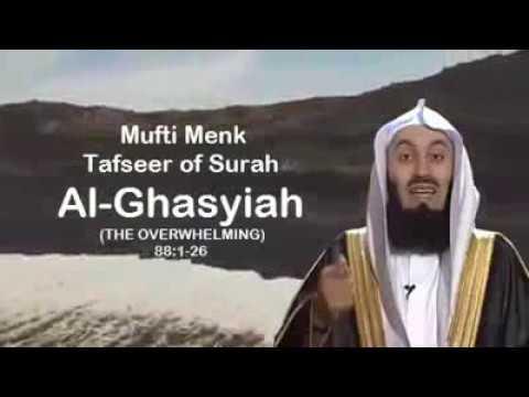 Mufti Manek-latest video Tafseer Of surah Al Ghashiya