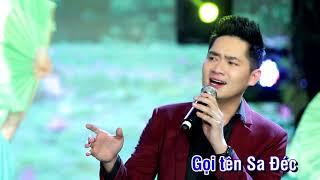 Tình Em Tháp Mười - Minh Luân   Karaoke - Nhạc Bolero 2018