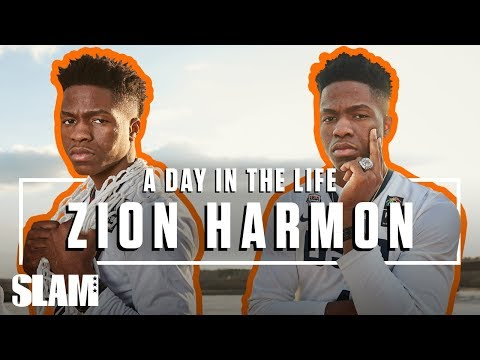 Zion Harmon Is Married to the Game 🤞🏽