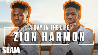 Zion Harmon's got the UNICORNS IN THE BACK 🤠 | SLAM Day in the Life
