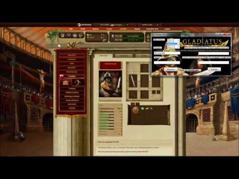 Gladiatus Gold und Rubin Hack