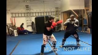 Body shot sparring. #martialarts #karate #kungfu