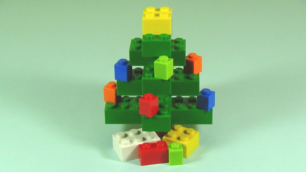 How To Build Lego CHRISTMAS TREE