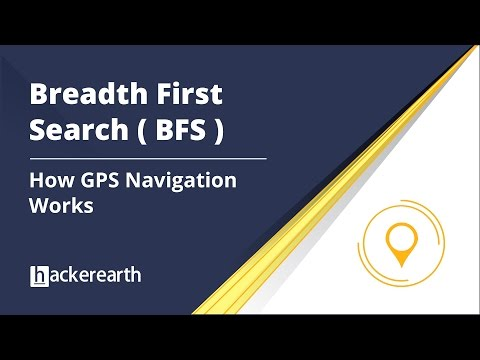 Breadth First Search | How GPS Navigation Works | BFS and DFS | BFS Algorithm