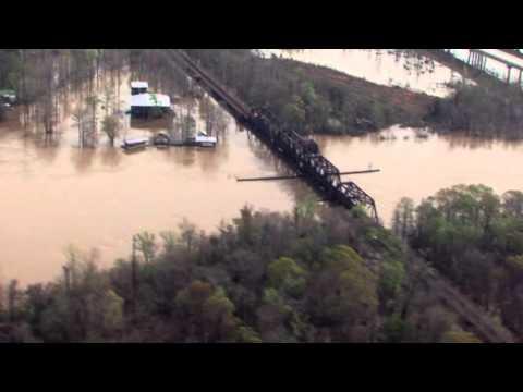 March 16 Aerial Flood Footage