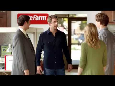 how much does aaron rodgers make from state farm commercials