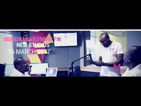 MUNGHANA LONENE FM NEW STUDIO LAUNCH 2017