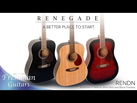 Renegade Series - RENDN Overview - Freshman Guitars