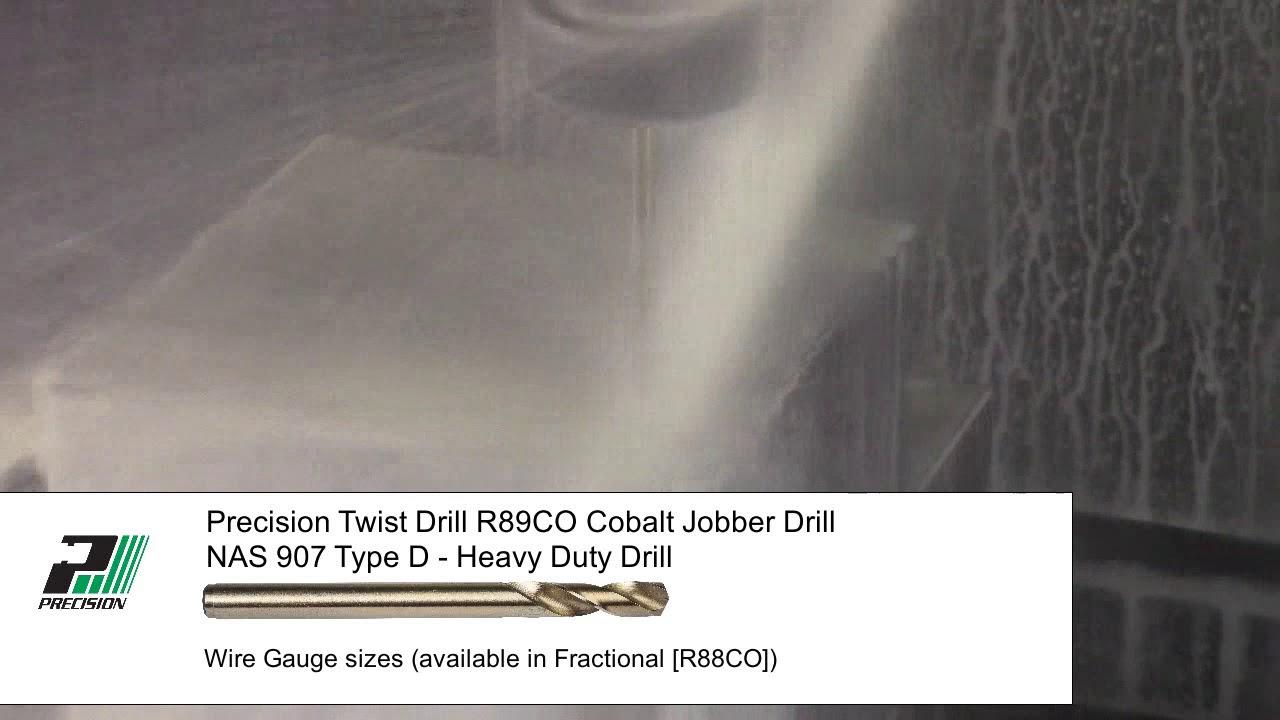 Precision twist drill r89co nas 907 type d jobber length drill bit precision twist drill r89co nas 907 type d jobber length drill bit greentooth Image collections