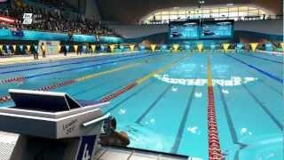 Londres 2012 100m Espalda Femenino Final