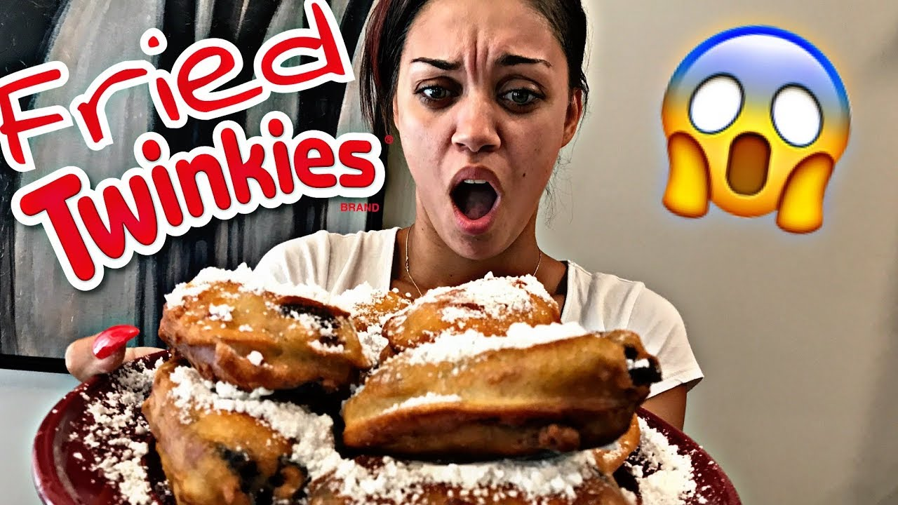 HOW TO MAKE FRIED TWINKIES | COOKING WITH THE PRINCE FAMILY (PART 22)