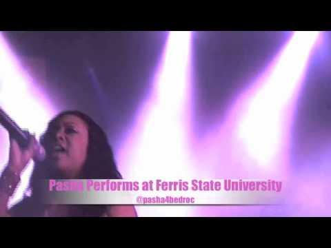 Pasha- Performs at Ferris State University