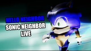 Hello Neighbor SONIC THE HEDGEHOG NEIGHBOR Mod