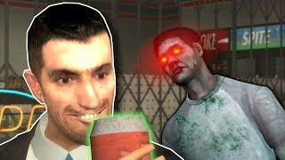 ZOMBIE APOCALYPSE CAUSED BY ENERGY DRINK! - Garry's Mod Gameplay & Zombie Survival