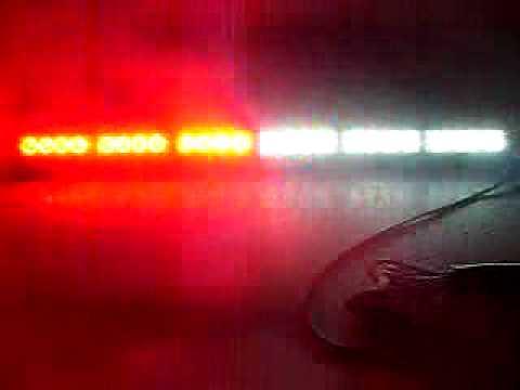 26 24 led red white light bar lightbar youtube 26 24 led red white light bar lightbar aloadofball Choice Image