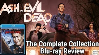 ASH VS EVIL DEAD: THE COMPLETE COLLECTION - Blu-ray Review
