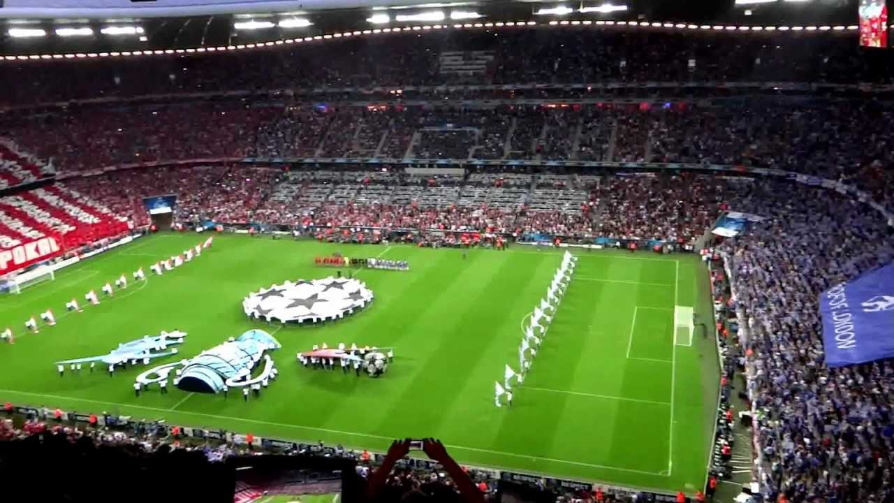 UEFA Champions League Final 2012 Munich - Opening Ceremony ...