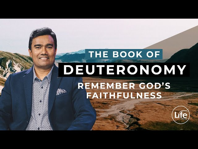 Deuteronomy 2 - Remember God's Faithfulness | Rev Paul Jeyachandran