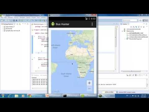 Android Tutorials - Google Maps API V2