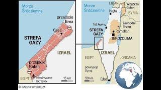 STREFA GAZY -strefa istot pozaziemskich -Żydzi i Palestyńczycy ,STREFA TWORZENIA ENERGII