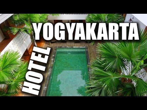 Schönes Hotel in Yogyakarta - Adhisthana Hotel Roomtour - Indonesien