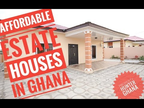 Affordable Estate House in Ghana - Property Hunter Ghana Tours Blue Ross Estate Ghana in Kasoa!!