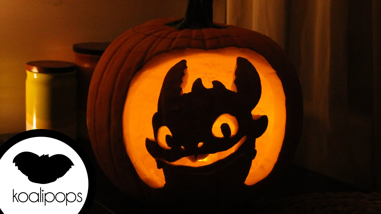 How to make toothless train your dragon jack o