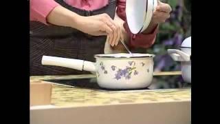 видео Преимущества эмалированной посуды
