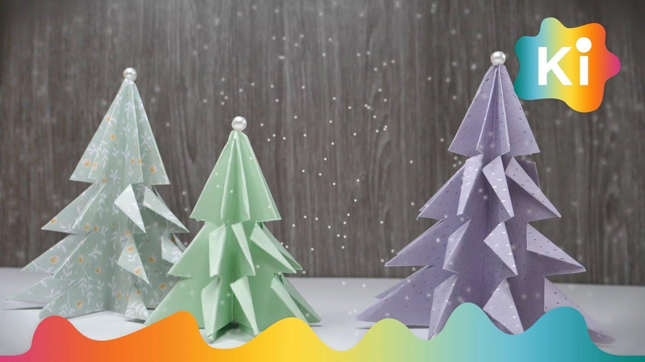 Juletrær i papir