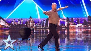 SALSA! Watch Malcolm Cuthbertson's UNIQUE style of flamenco dance!  | Auditions | BGT 2018