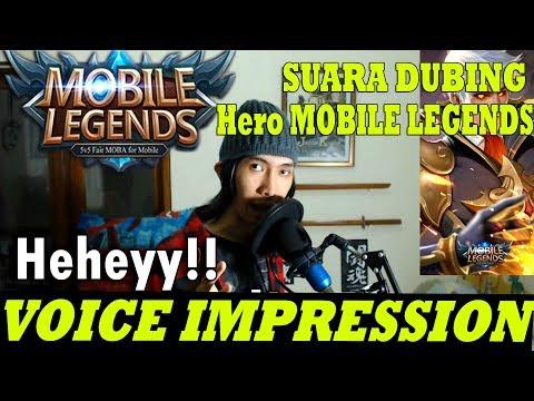 VOICE IMPRESSION OF HEROES Mobile Legends: Bang Bang