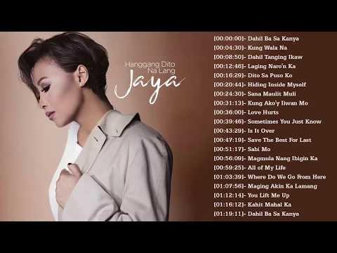 Jaya Tagalog Love Songs | Jaya Best Songs Nonstop Collection | Jaya Full Album 2018