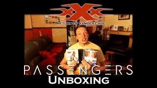 Unboxing 4K Ultra HD Blurays XXX Return of Xander Cage & Passengers