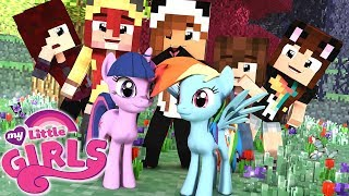 ENTREI NO MUNDO DE MY LITTLE PONY? | Minecraft: MY LITTLE GIRLS #1