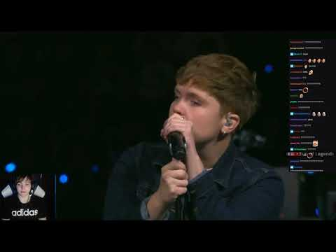 6'5 TYLER1 SHOWS UP AT LCS SUMMER FINALS | NEW RIOT GAMES SONG - LS REACTION | LOL MOMENTS