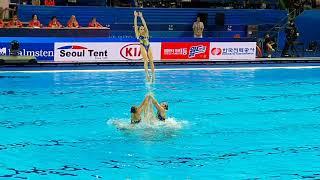 Кванджу 2019 | КОМБИ ФИНАЛ | Чемпионат мира, синхронное плавание