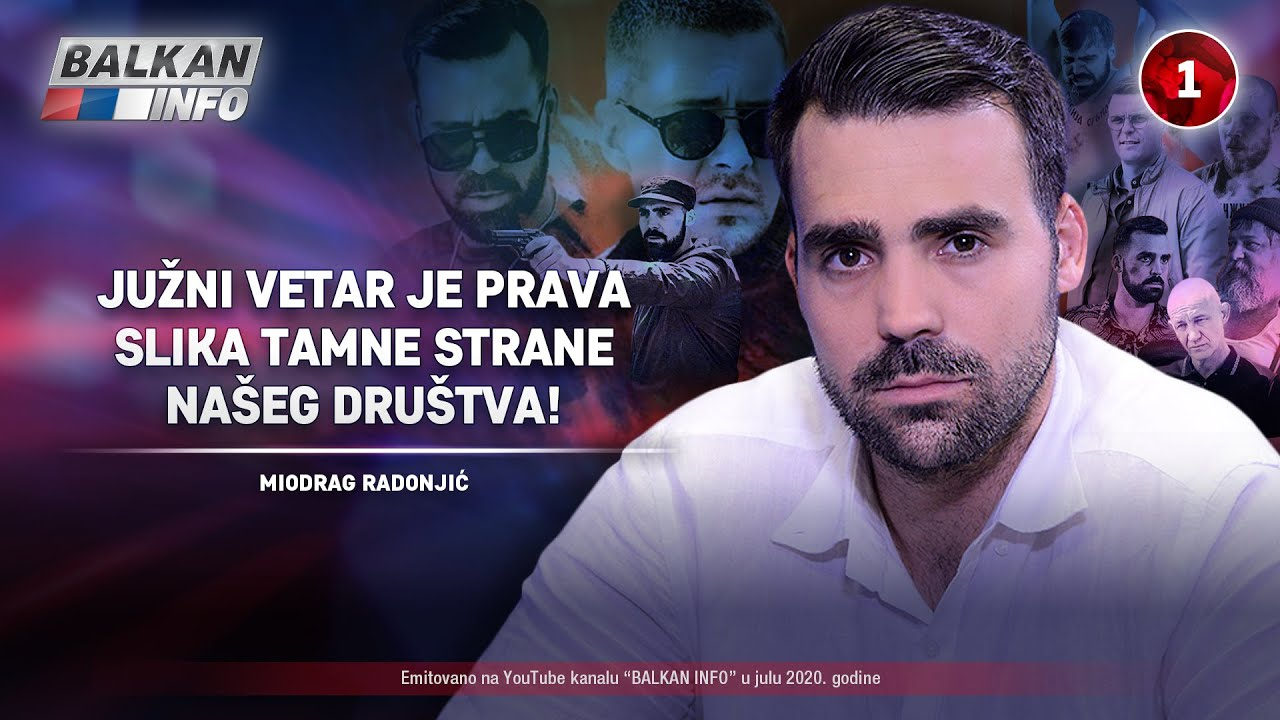 INTERVJU: Miodrag Radonjić - Južni vetar je prava slika tamne strane našeg društva! (10.7.2020)