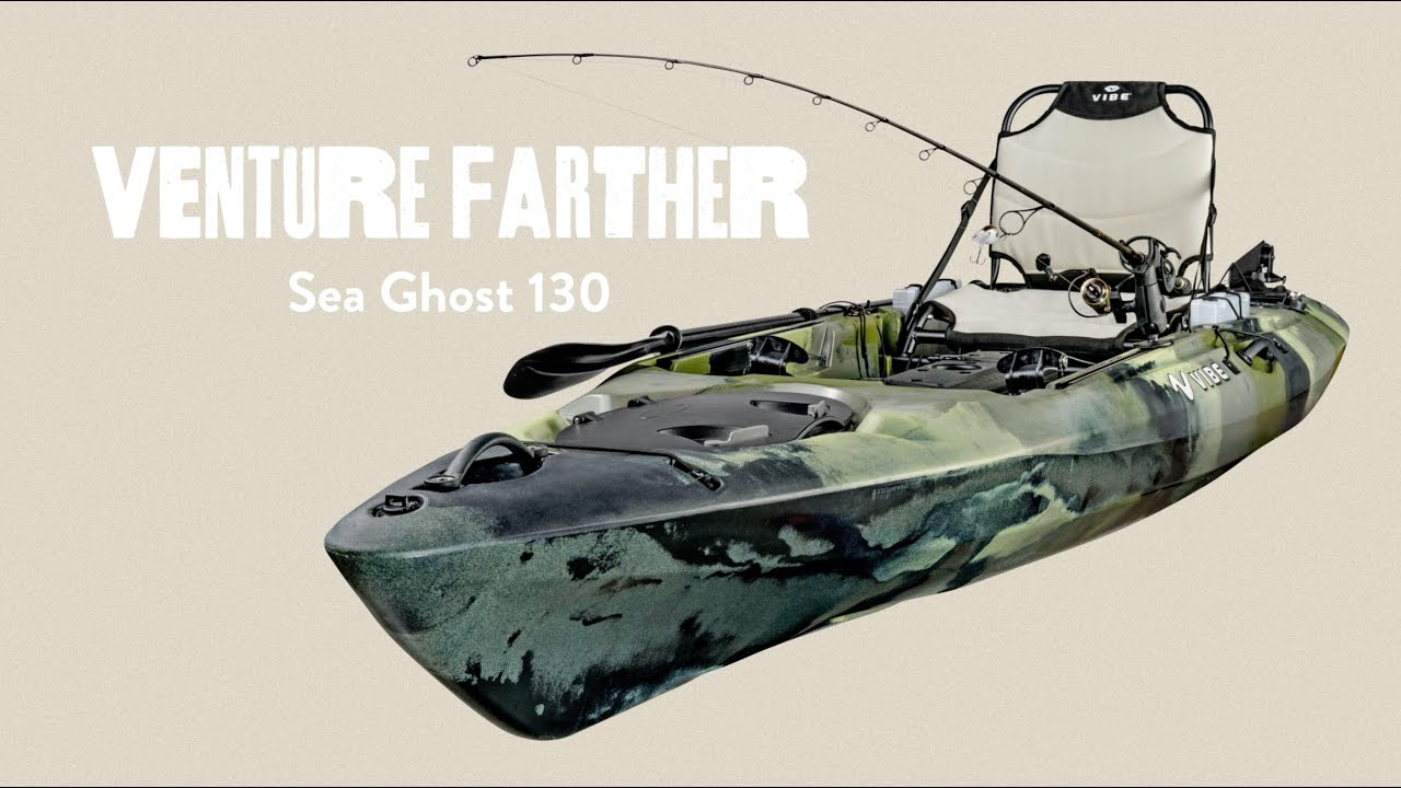 vibe sea ghost 130 is one of the best fishing kayaks under 1000