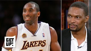 Kobe just wants to enjoy greatness, not focus on the NBA GOAT debate - Chris Bosh | Get Up!