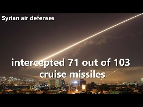 Syrian air defenses intercept 70% of US cruise missiles