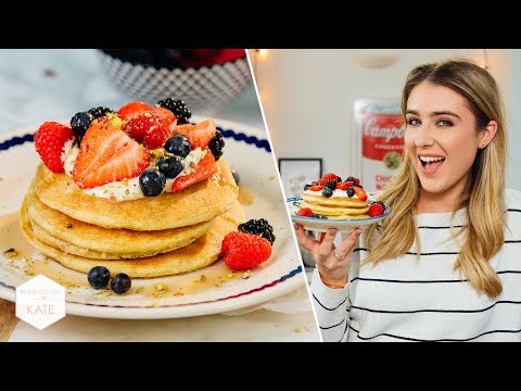 Tested Jamie Oliver's American Style Pancakes - In The Kitchen With Kate
