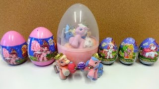 Little Filly Witchy Big Surprise Eggs & Toys Set Unboxing Überraschung Sorpresa Xmas