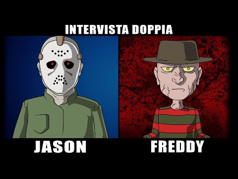 INTERVISTA DOPPIA 😈 JASON vs FREDDY - Venerdì 13 vs Nightmare